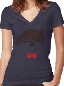 Conan (Colour) Women's Fitted V-Neck T-Shirt