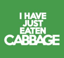 I have just eaten cabbage by onebaretree