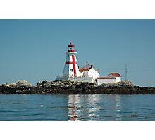 Head Harbour Lighthosue Photographic Print