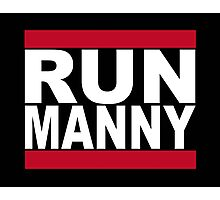 Run Manny T Shirt for Floyd Mayweather Fans Photographic Print