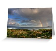 HDR Rainbow Greeting Card