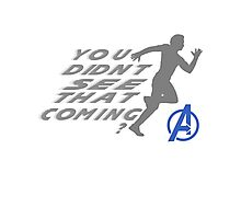 Quicksilver in Avengers Photographic Print