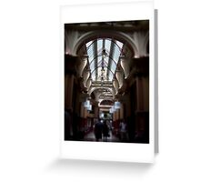 Melbourne Arcades Greeting Card
