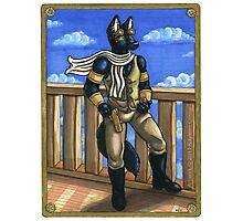 Steampunk Anubis Photographic Print