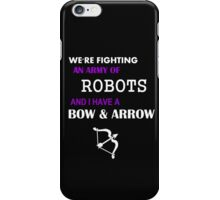 hawkeye keeping it real iPhone Case/Skin