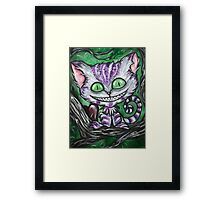 Sir Chester And His Dark Heart Framed Print
