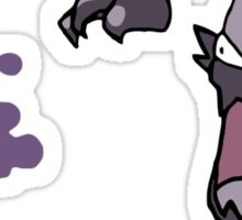Haunter Uses Scary Face... Sticker