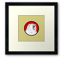 Angry Bear is Angry Framed Print