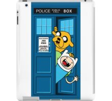 Adventure of time: Police Box Call iPad Case/Skin