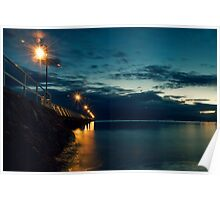 Shorncliffe at Dawn... Poster
