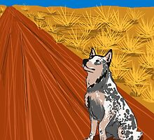 Cattle Dog by CrowleyPants