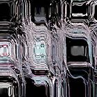 Black Diamonds Abstract by Darlene Lankford Honeycutt