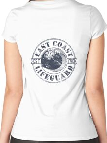 East Coast Lifeguard Women's Fitted Scoop T-Shirt