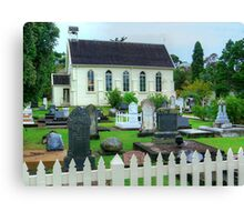 The little Church filled with history.......! Canvas Print