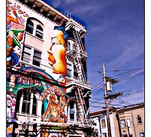 The Mission, San Francisco Comicography by djskinnylatte