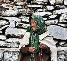 pilgrim. rewalsar, india by tim buckley | bodhiimages