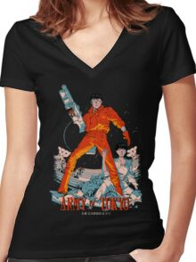 Army of Tokyo Women's Fitted V-Neck T-Shirt
