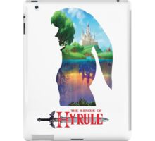 The Rescue Of Hyrule!!! iPad Case/Skin