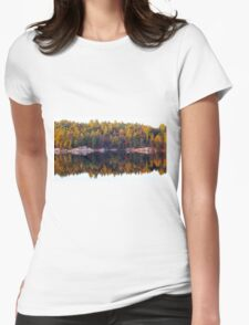 Fall Display Womens Fitted T-Shirt
