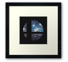 Cosmic Smash Ball Framed Print