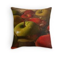 Apples.  Throw Pillow