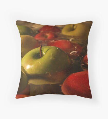 Apples.  Throw Pillow