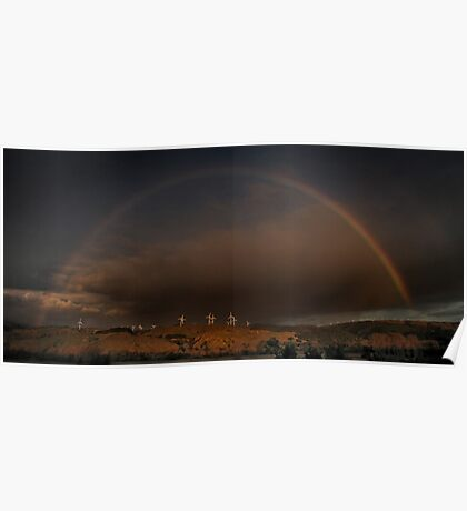 Between The Ends of a Rainbow Poster