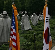 Korean War Memorial by Judson Joyce