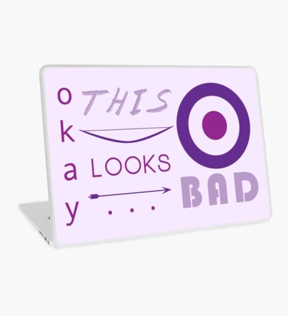 Okay... this looks bad (2) Laptop Skin