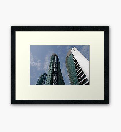 Bahrain Financial Harbour Framed Print