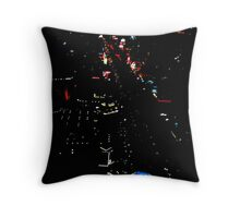 The Strip Throw Pillow