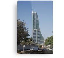 Bahrain Financial Harbour Metal Print
