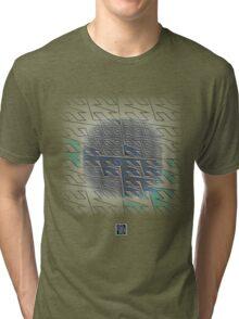 """Z Order Lebesgue Curve""© Tri-blend T-Shirt"