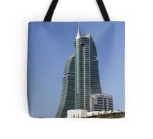 Bahrain Financial Harbour Tote Bag