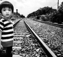 crossing the railroad by irenaeus herwindo