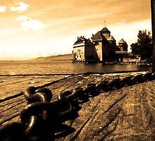 Chateau de Chillion - Switzerland by Sophie Gonin