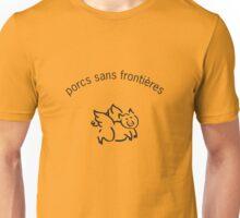 Porcs Sans Frontieres Unisex T-Shirt