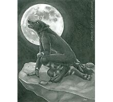 Moonrise Howl Photographic Print