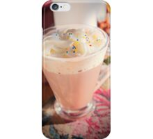 Hot Chocolate For A Cozy Night At Home iPhone Case/Skin