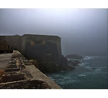 Fort Grosnez in the Fog - Alderney Photographic Print