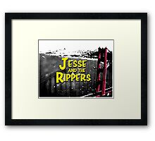 Jesse and the Rippers 90s Style Framed Print