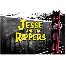 Jesse and the Rippers 90s Style Photographic Print
