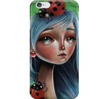 Miss Lady Bug iPhone Case/Skin