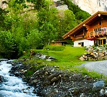 Chalet by the River by Sophie Gonin