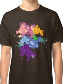 Colorful Splatter  Classic T-Shirt