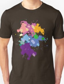 Colorful Splatter  T-Shirt
