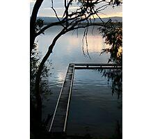 Peaceful Outlook - Lake Macquarie Photographic Print