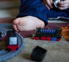 Train Set by Laura Cardello