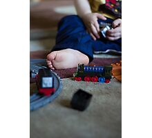 Train Set Photographic Print