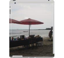 A BEACH Beach BAR iPad Case/Skin